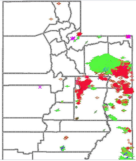 Cng Stations Utah Map.Fracking In Utah Ballotpedia