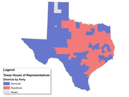 Texas House of Representatives  Ballotpedia