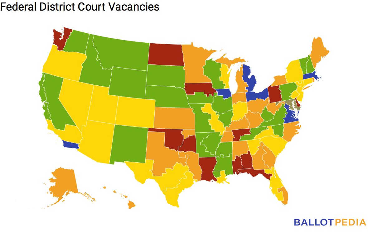 The Federal Judicial Vacancy Count 11/5/2019 - Ballotpedia