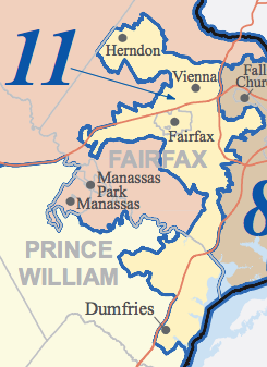 Virginia S 11th Congressional District Ballotpedia