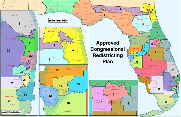 florida congressional districts png
