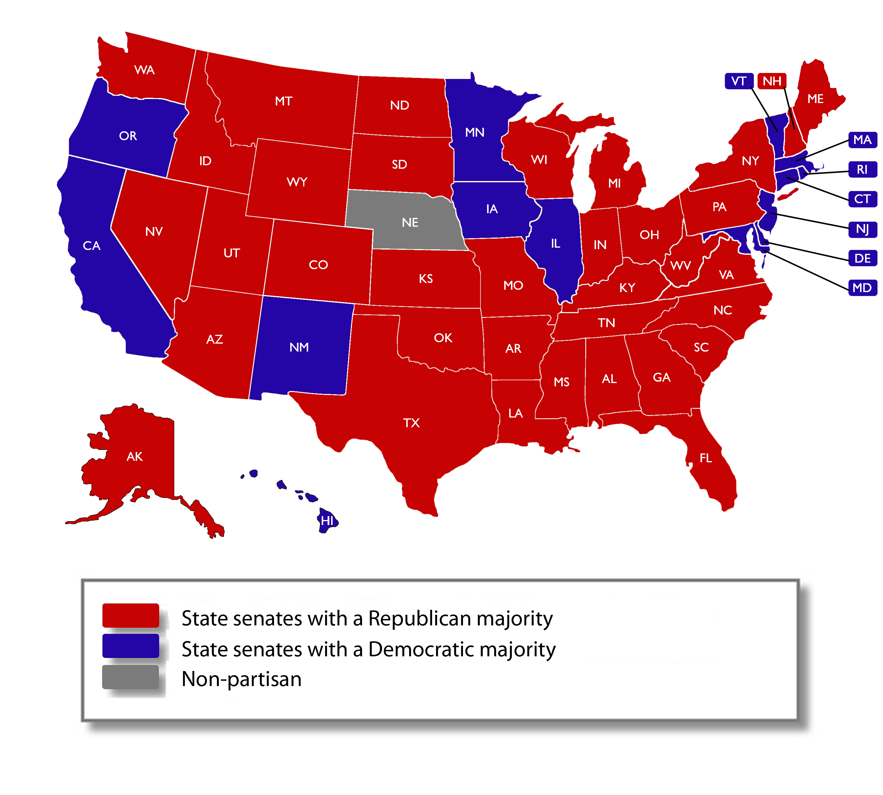 State Legislative Elections Ballotpedia - Us states map polls
