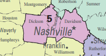 Map Of Arizona 5th Congressional District.Tennessee S 5th Congressional District Ballotpedia