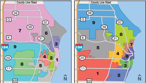 Racine Wisconsin Map.Racine Unified School District Wisconsin Ballotpedia