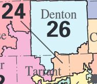 Texas 24th Congressional District Map Texas' 24th Congressional District   Ballotpedia