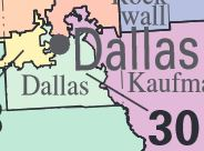 Map Of Texas 30th District.Texas 30th Congressional District Ballotpedia