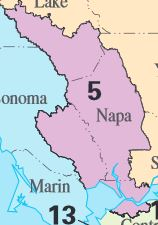 Map Of Arizona 5th Congressional District.California S 5th Congressional District Ballotpedia