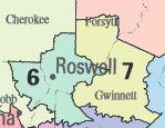 Map Of Georgia 6th Congressional.Georgia S 6th Congressional District Ballotpedia