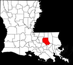 Livingston Parish, Louisiana (Judicial) - Ballotpedia